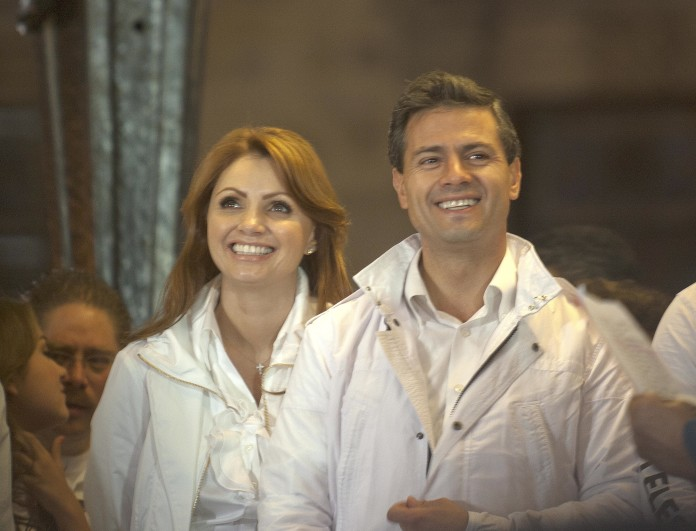 Enrique Peña Nieto y Angélica Rivera