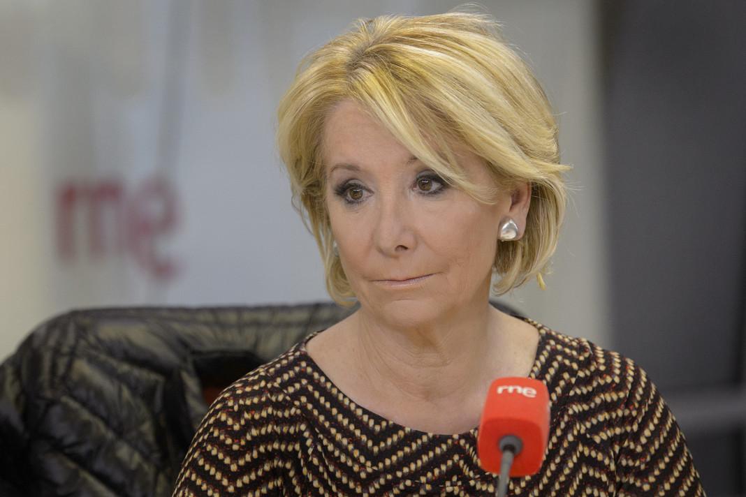 Esperanza Aguirre dimite como presidenta del PP de Madrid.
