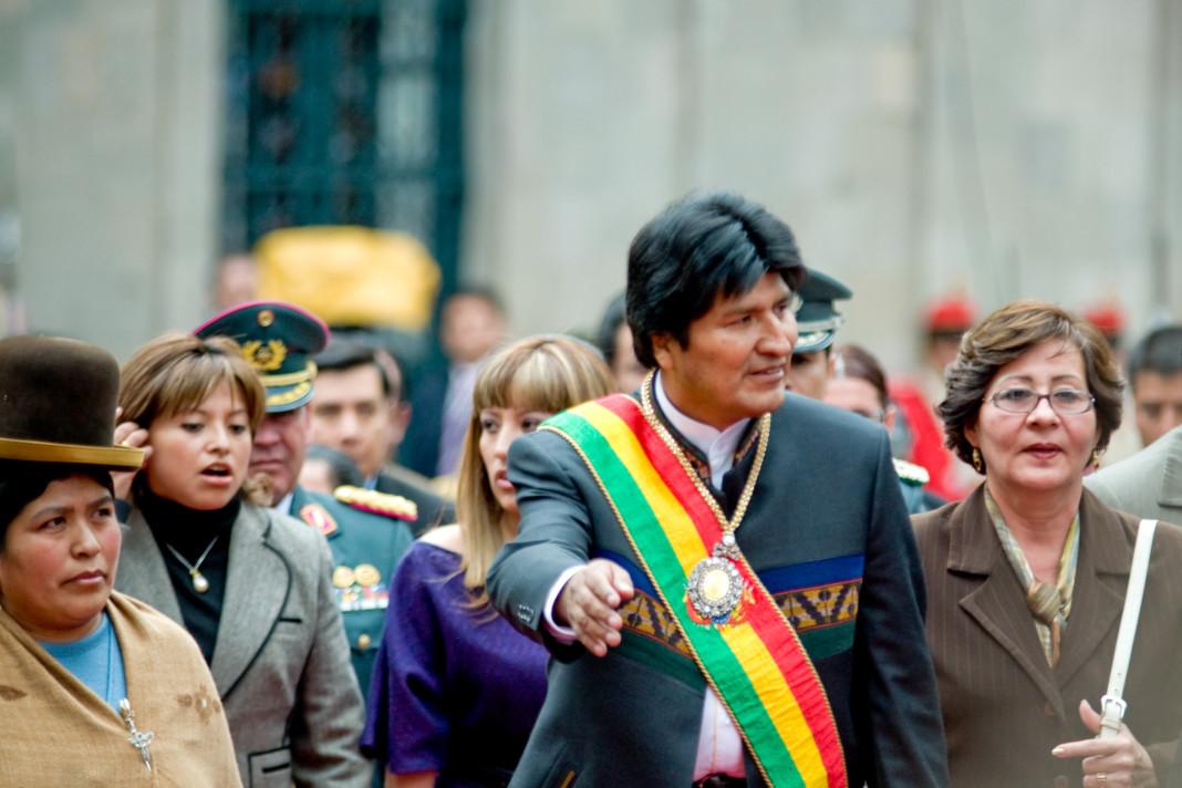 Evo Morales, presidente de Bolivia. Imagen de archivo.