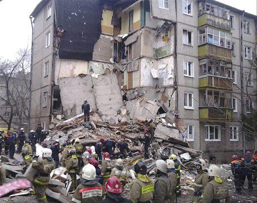Explosión de gas en Rusia Foto @www.gettysburgtimes.com