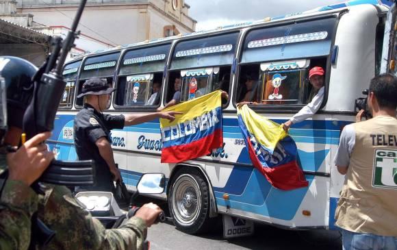 Tensión en la frontera colombo-venezolana