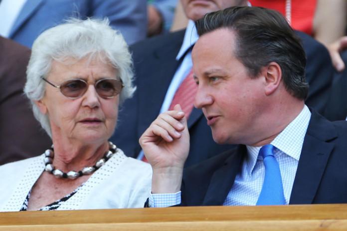 Mary Cameron y David Cameron Foto@metro.co.uk