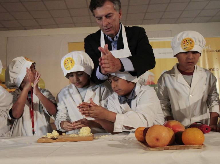 Macri logra reanudar las clases en Buenos Aires