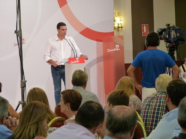 Sánchez ofrece un pacto a la izquierda para ser investido