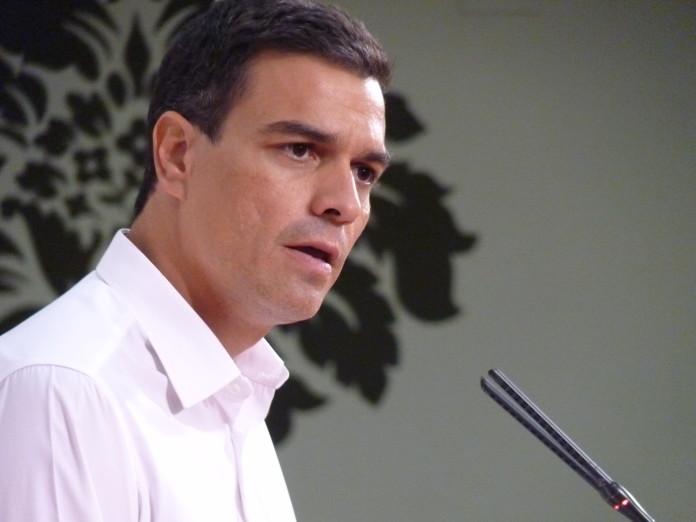 El líder socialista, Pedro Sánchez