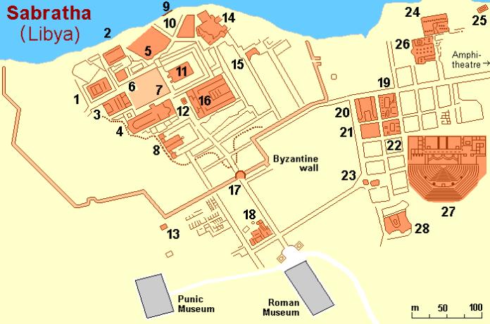 Ataque a Sabrata, Libia