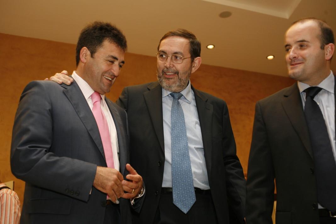 A la izquierda, Pepote Ballester, primero en declarar en la reanudación del caso Nóos. www.casonoos.com