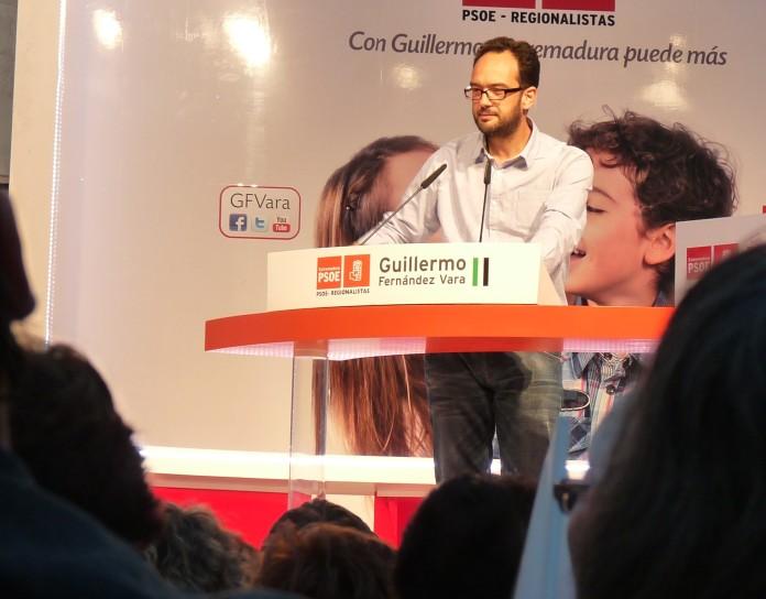 El portavoz del partido socialista, Antonio Hernando.