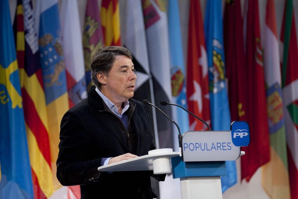 Ignacio González, presidente de la Comunidad de Madrid, entre 2012 y 2015.