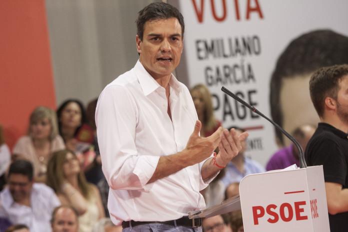 Pedro Sánchez gana las elecciones generales en España.