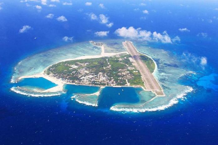 China despliega misiles en la isla Woody.