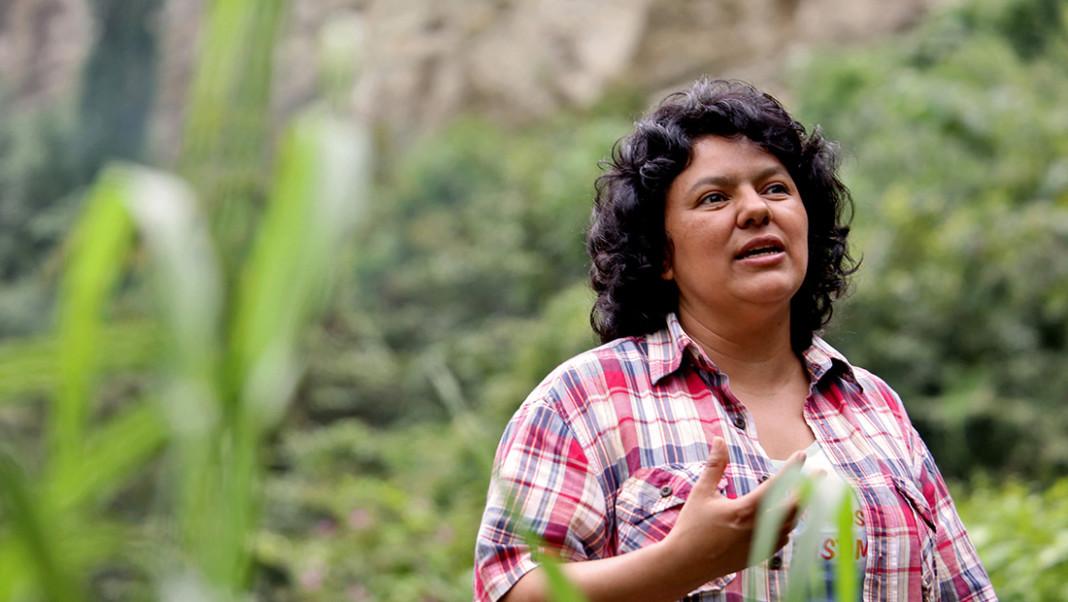 Asesinan a la activista hondureña Berta Cáceres. www.goldmanprize.org