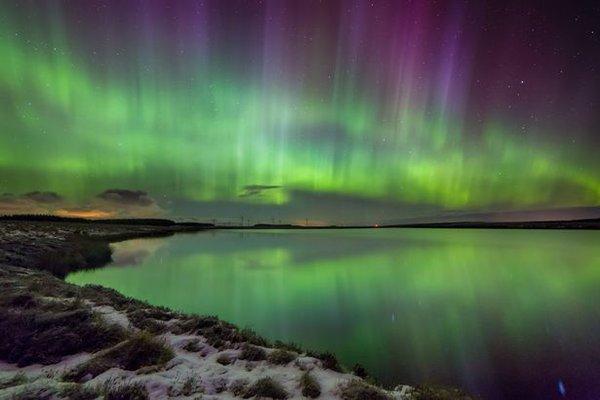 Aurora Boreal. Foto@ScotlandNow