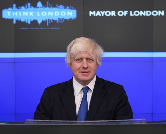 Boris Johnson, alcalde de Londres.