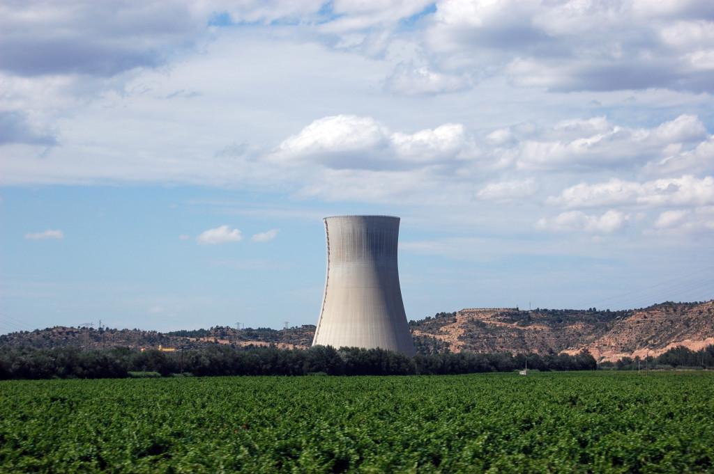 Centra nuclear. Imagen de archivo.