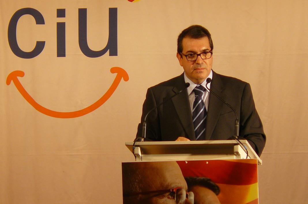 Jordi Jané, consejero de Interior catalán.