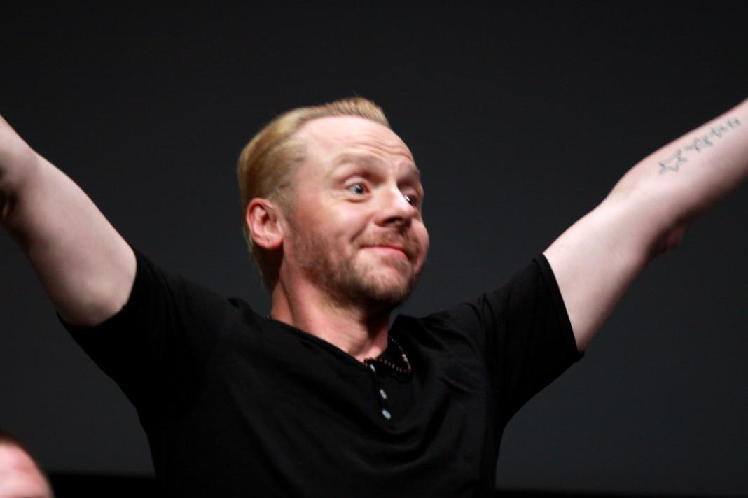 Simon Pegg encarnará papel en Ready Player One.