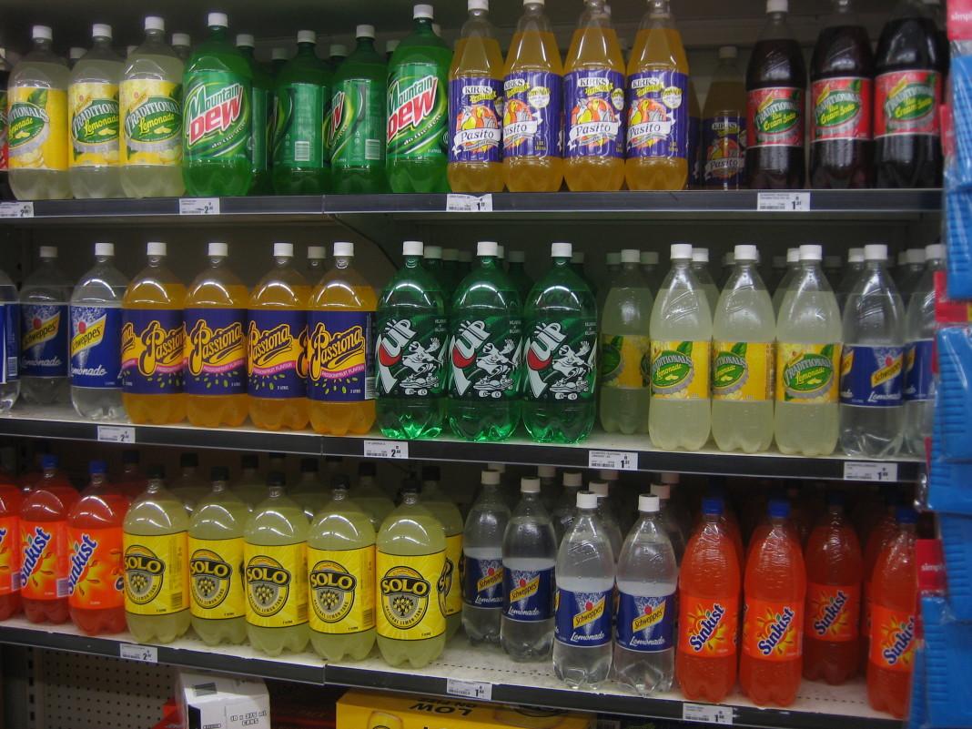 Nuevo impuesto para las bebidas azucaradas.