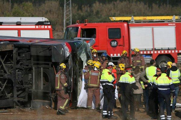 accidente bus tarragona