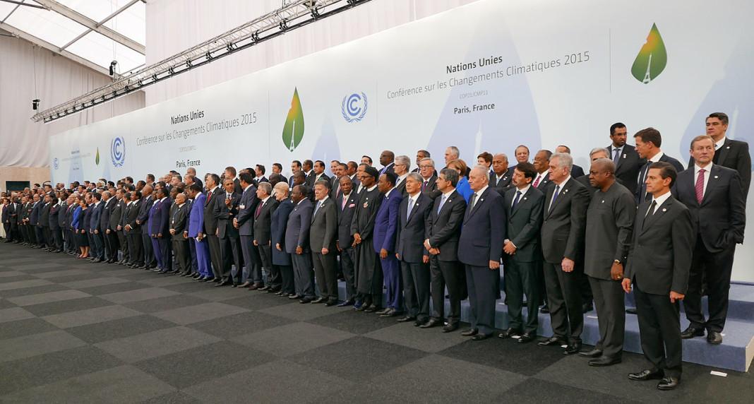 Conferencia de cambio climático que tuvo lugar en París este 2015.