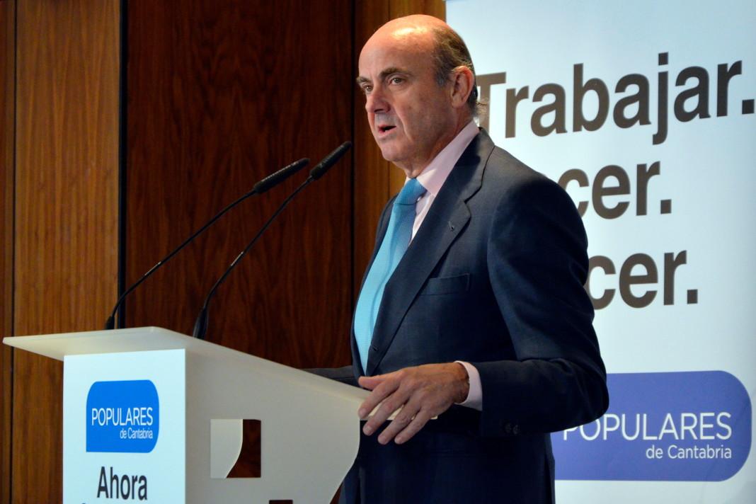 Luis de Guindos, ministro de Economía y Competitividad de España.