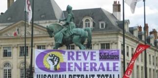 Huelga general en Francia