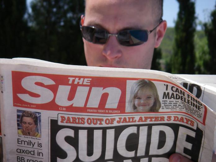 Condenan a exeditor de The Sun por violar ley de delitos sexuales. Imagen de archivo.