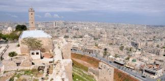 Alepo, una de las ciudades más afectadas en el conflicto sirio.