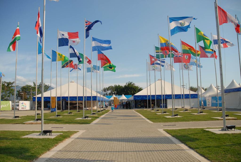 Plaza de las banderas, Río