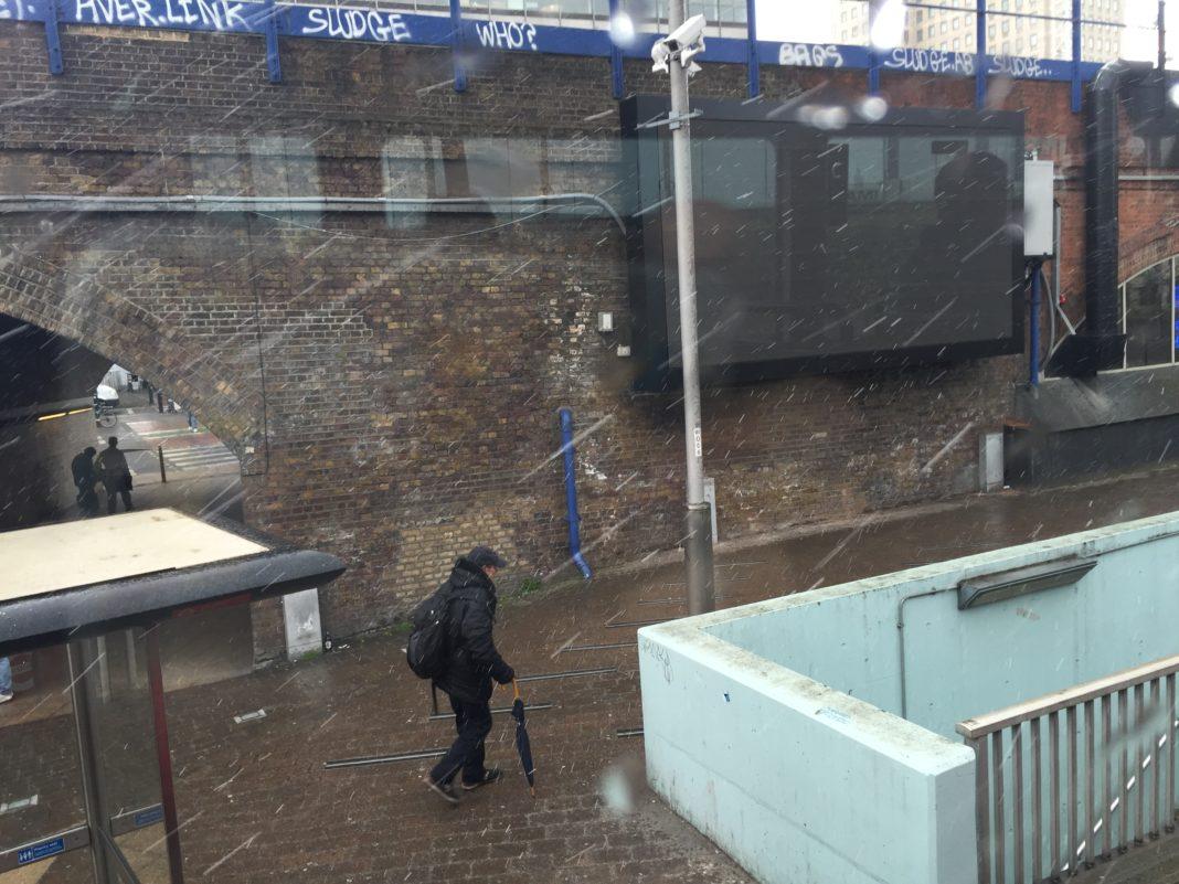 Nieve en Londres