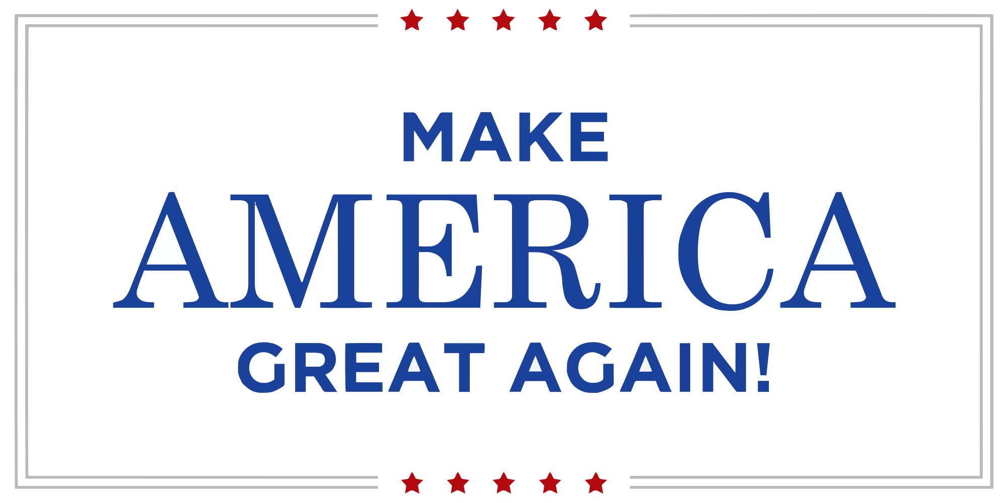 Make america great poster-5826