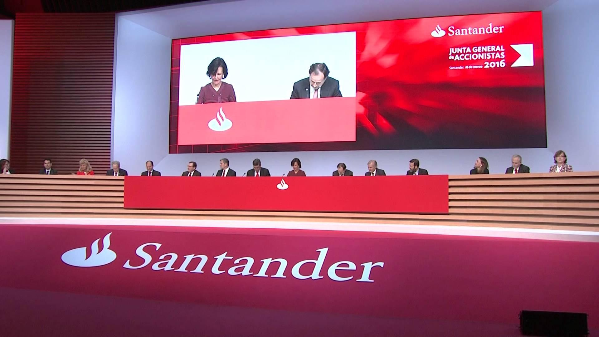 El banco santander cerrar 450 oficinas en espa a aculco for Oficinas banco santander zaragoza capital
