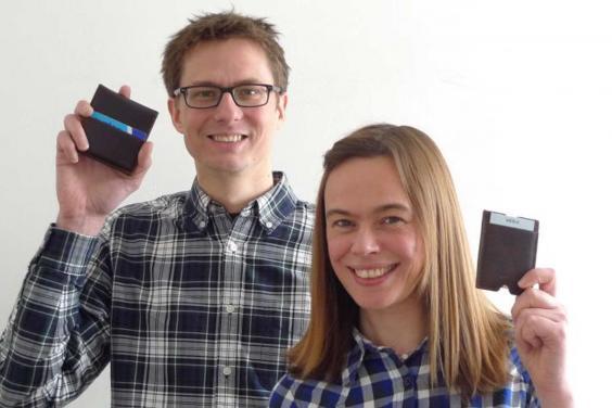 Mark Longstaff-Tyrrell y Amy Walker, los inventores de las carteras Merlo