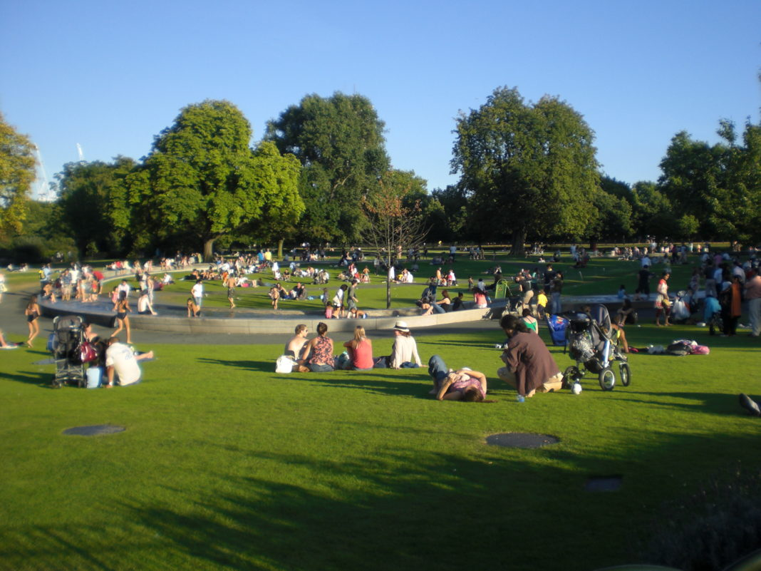 Ola de calor en Londres