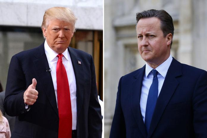 Trump y Cameron