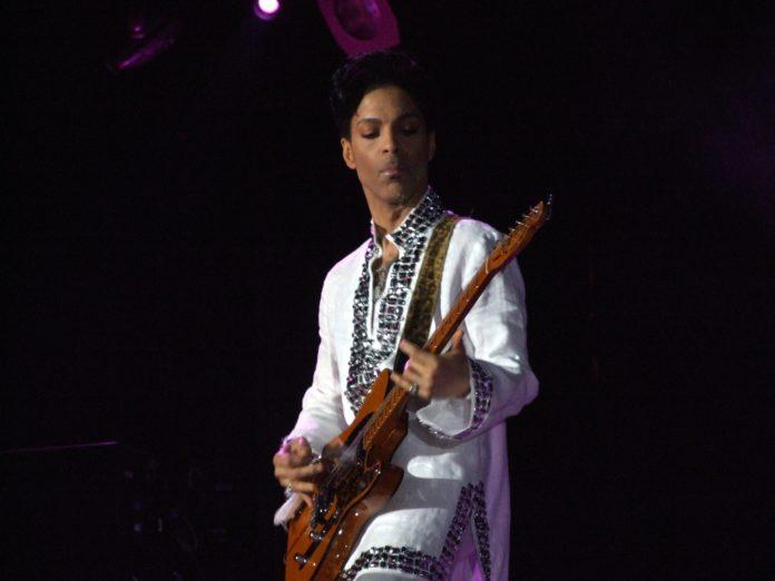 Prince en el escenario