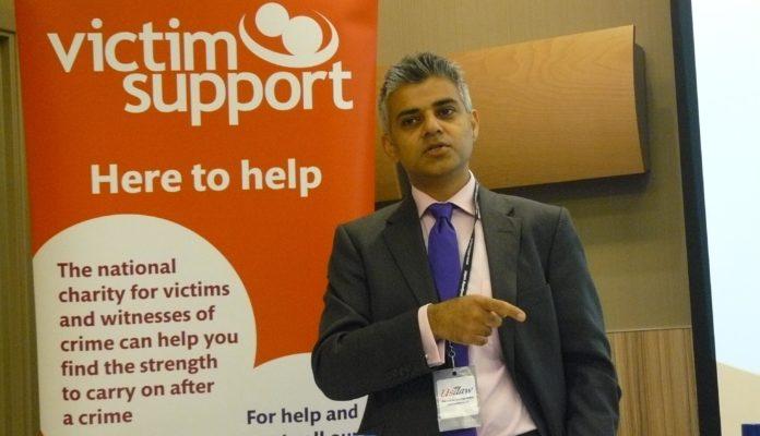 El alcalde de Londres, Sadiq Khan.
