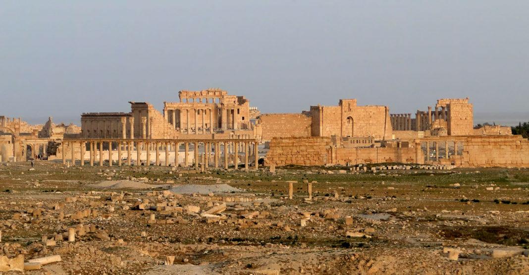 Palmira, ciudad Patrimonio de la Humanidad. Imagen de archivo.