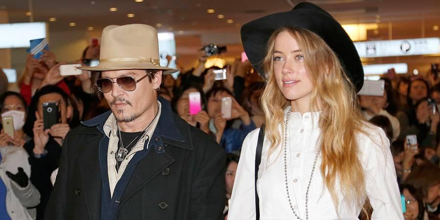 Johnny Depp y Amber Heard Foto @losandes.com.ar