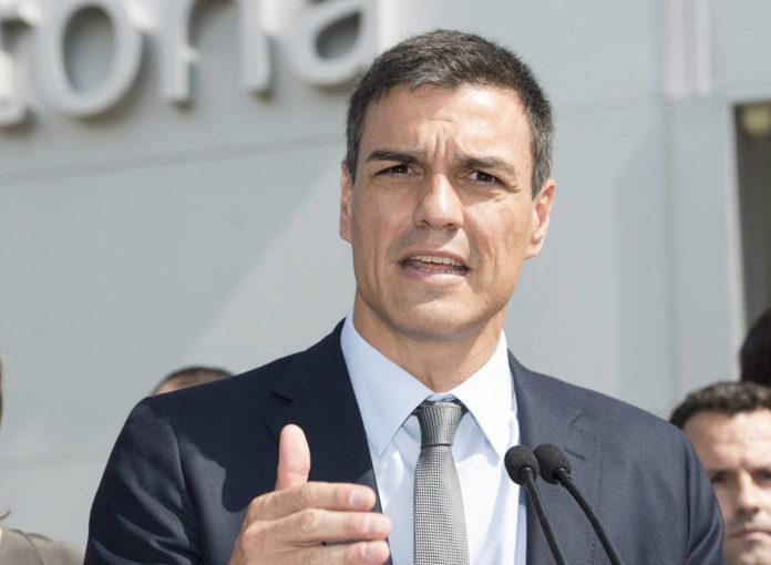 El presidente de España, Pedro Sánchez.