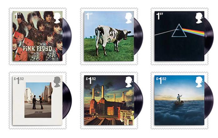 Sellos Pink Floyd