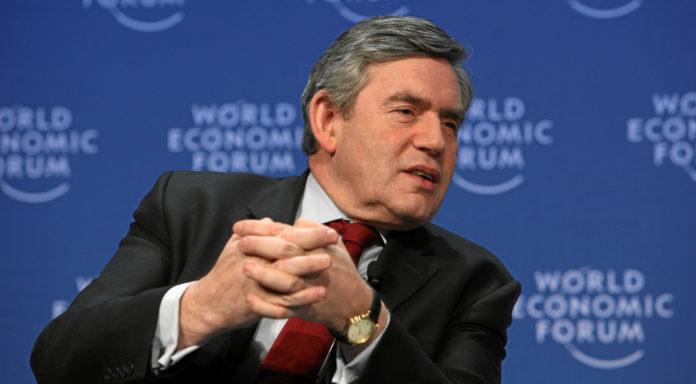 El exprimer ministro Gordon Brown a favor de permanecer en la UE. Imagen de archivo.