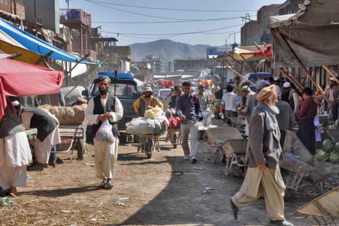 Kabul, capital de Afganistán.