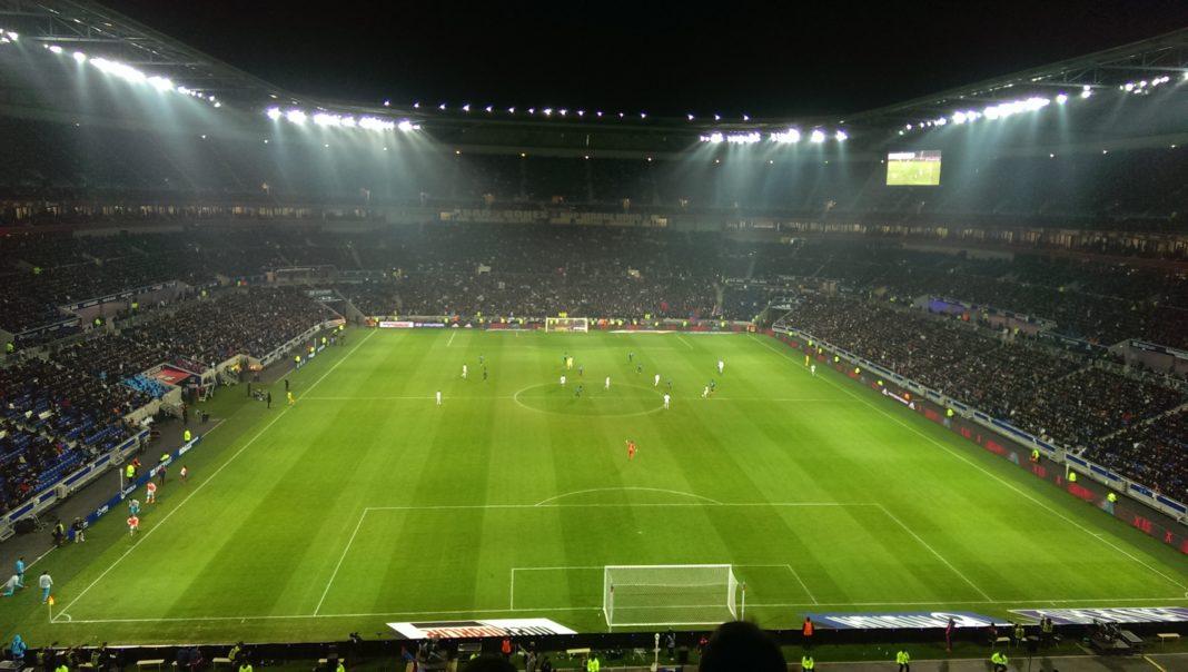 Estadio des Lumiéres. Imagen de archivo.