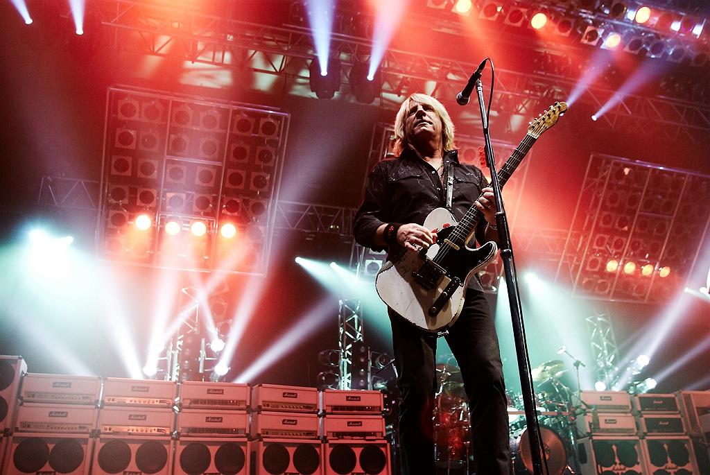 Rick Parfitt, guitarrista de Status Quo.