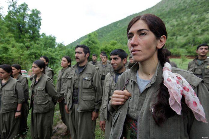 Miembros del PKK de Turquía. Twitter.