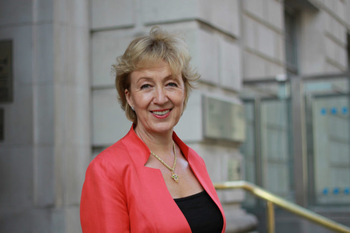 Andrea Leadsom, candidata a ser primera ministra británica.
