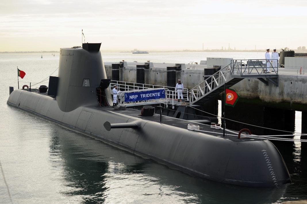 Submarino Trident. Imagen de archivo.