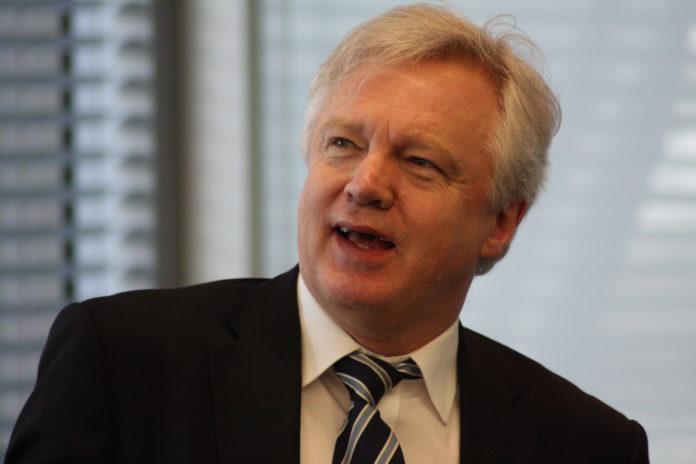 David Davis, secretario del Brexit.