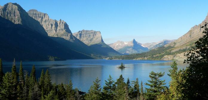 Parque Nacional de Glacier.